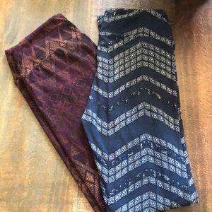 LuLaRoe Pants - Lularoe leggings (2) pair